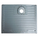Petrol tank panel AU/AZU/AK350 small ripple. Zinc electroplated, new production.