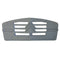 Winter grille muff blind, 2cv, rigid grey plastic, fits any plastic grille only.