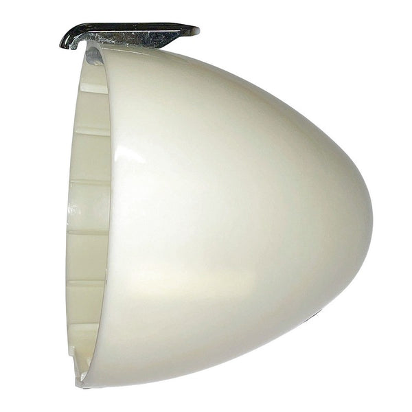 Headlight lamp shell, 2cv, original round plastic, colour will vary since they need to be painted.