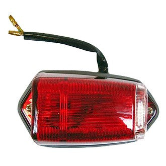 Side indicator & parking light, 2cv, AZ, AZA, 1964 to 1969 complete, Red