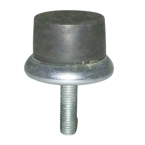 Bump stop, round, rear, fits on top of chassis to rear of rear axle, Acadiane or AK400