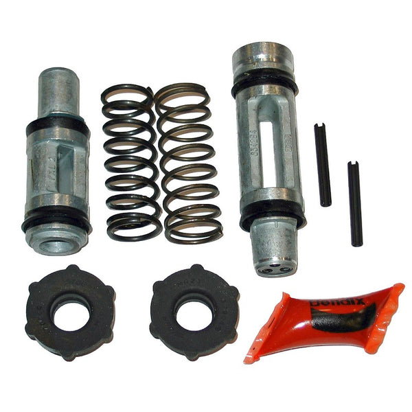 Repair kit, (pistons, all seals and pins), Dot4 fluid, 20.6mm diam. Fits only tandem cylinder ref: 57119. SEE NOTES.