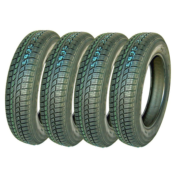 Tyre, Toyo 310, SET OF 4, 135/80 x15, tubeless, made in Japan.