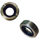 Steering pinion ring nut, original, slotted top, with seal. M38x1.50