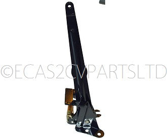 Chassis mounted lever assembly for handbrake cables, disc brake 2cv