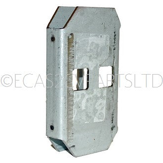 Body B (middle) door post lock mount plate only, right