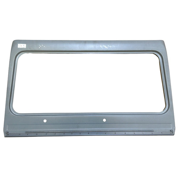 Windscreen surround panel for Dyane, Acadiane, basic outer skin, inner not included, zinctec steel, SEE IMPORTANT NOTES ABOUT THIS BARGAIN PANEL.