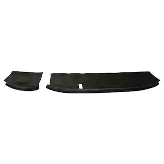 Front dash parcel shelf cover (2 pieces, 1 left, 1 right) left hand drive (EUROPE)