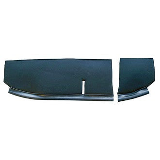Front dash parcel shelf cover (2 pieces, 1 left, 1 right) right hand drive (UK)