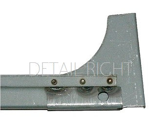 Internal rectangular crossmember below, behind windscreen frame, 2cv. CLICK for detailed images.