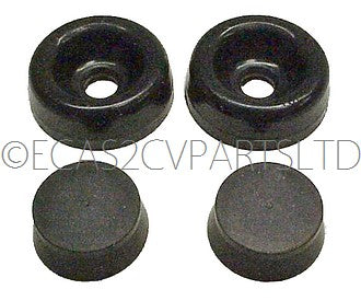 Repair kit, 2cv 1970 to 1981, seals only for one 17.5mm, DOT3 or DOT4 rear cylinder.