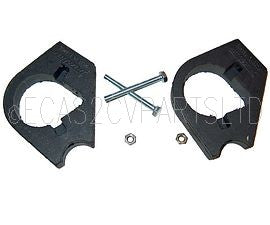 Mounting set, rubber, universal for standard ignition coil to 2cv6, Dyane 6, Ami 8.