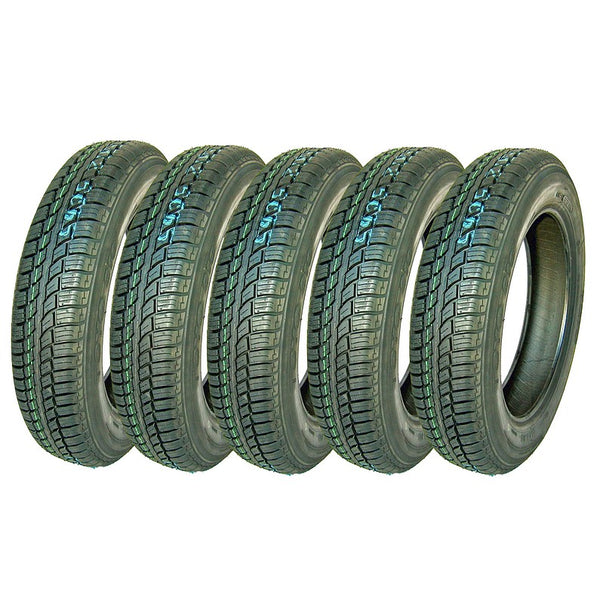 Tyre, Toyo 310, SET OF 5, 135/80 x15, tubeless, made in Japan