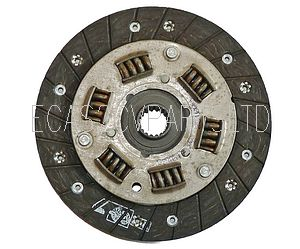 Clutch friction plate with anti shock springs, 2cv etc. diaphragm type.