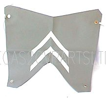Winter grille muff blind, 2cv, for ripple bonnet grill