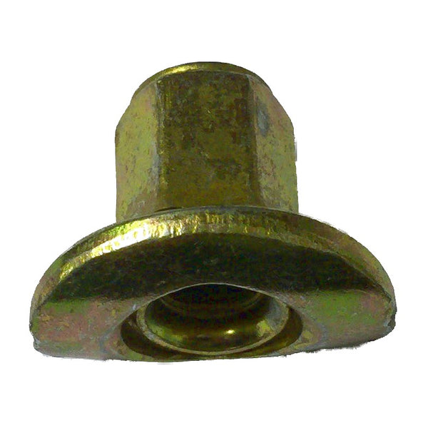 Long wheel nut with domed top, 2cv etc., can not be used on cars with fitted hub caps M12x1.25. Genuine Citroen part, not new but cleaned, checked and replated. Condition (always good) will vary.