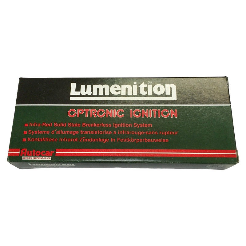 Lumenition electronic ignition kit, made in England, made for 2cvs for more than 30 years, gives massive spark. Always in stock.