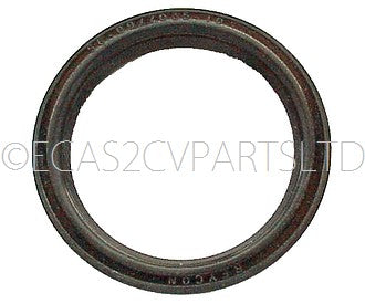 Crankshaft seal rear quantity TWO, 2cv6 etc., single lip, 56x69x10. Original size, see important notes.