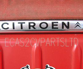 Citroen logo for boot lid hinge, self adhesive transfer.. DISCONTINUED