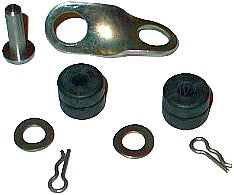 Repair linkage kit for joint between gearbox lever and dashboard gear lever 2cv etc.