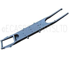 Chassis subframe, 2cv/Dyane, original pattern, cataphoretically painted, for disc or drum braked 2cv6. Weight just 52kg. Collec