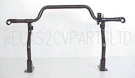 Headlight lamp support bar frame left hand drive, original part, 2cv6.