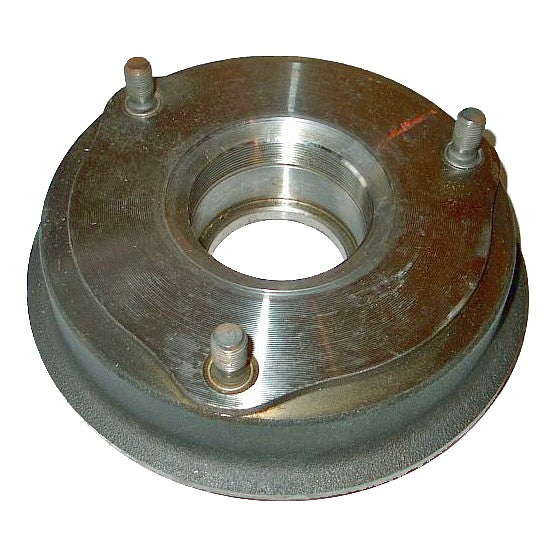 Rear brake drum/hub for wheel bearing 2cv/Dy., bearing NOT included. NOT for Ami etc.
