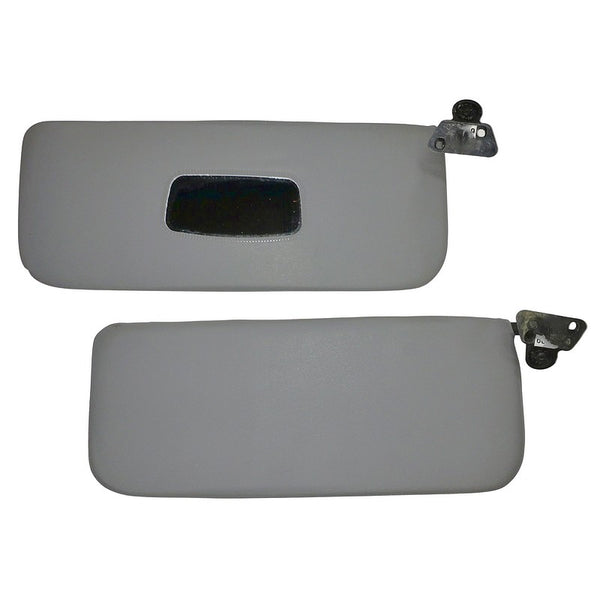 Sun visor, 2cv, pair pale grey vinyl only. Best original quality. See notes. Whilst stocks last!