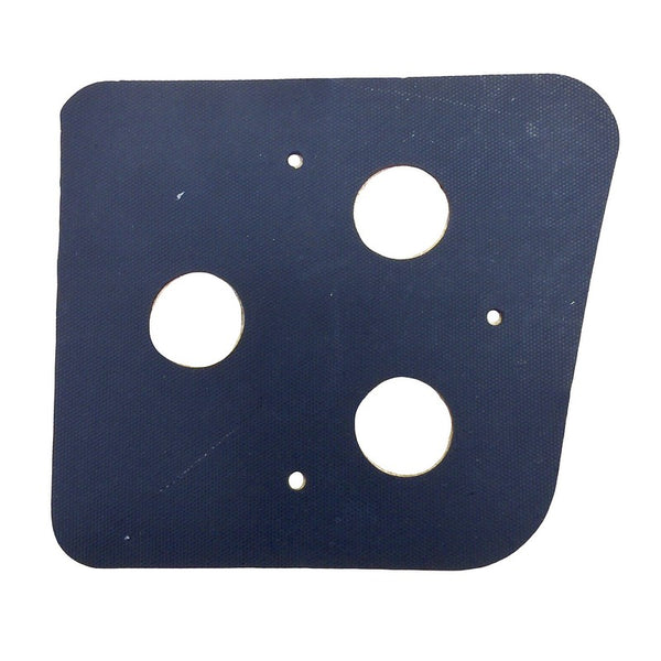 Rubber gasket for the base of rear light units 2cv6 etc. Fits left or right.