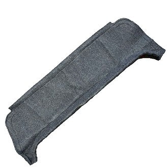 Rear parcel shelf, anthracite grey, (hammock for covering your own frame only).