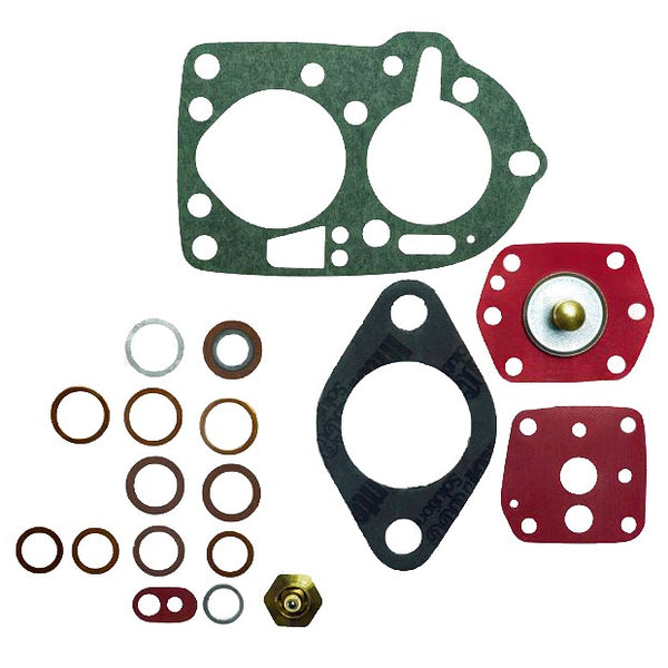 Carburettor repair set for Solex PBICA Citroen HY/DS/11CV Peugeot 403, 404, 504 L, J7. Renault Dauphine + Floride