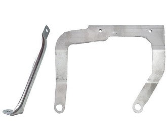 Air filter bracket set of 2, stainless steel for plastic filter body 2cv6.