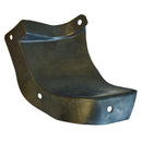 Inner wing front left moulded mud guard flap for Dyane and Acadiane.