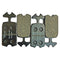 Mintex Racing brake pads for all 2cv and Dyane 6. Set of 4. For Race circuit use only. SEE NOTES