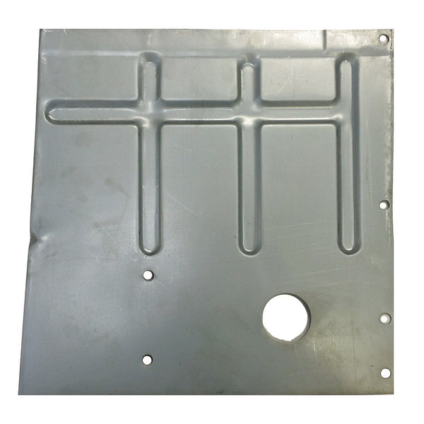 Floor repair panel, 2cv6 or Dyane, Acadiane, front interior quarter left.