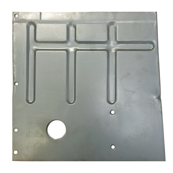 Floor repair panel, 2cv6 or Dyane, Acadiane front interior quarter right.