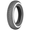Michelin X, WHITEWALL tyre 125/90R15 tubeless, genuine Michelin application.