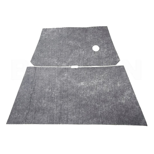 Sound proofing, for underside of DYANE or ACADYANE bonnet, new, self adhesive felt, easy to fit.