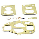 Carburettor gasket and copper seal set for twin choke oval neck 2cv etc. 1978 onward.