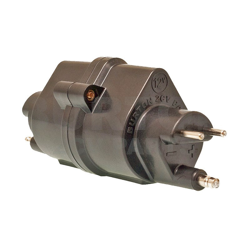 Burton super coil, high performance, better than 'Harley' type coil, 12v. USE ONLY WITH ELECTRONIC IGNITION.