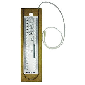 Manometer kit to test breather function, crankcase depression