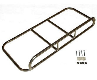 Boot lid rack 2cv, stainless steel, includes fittings. ZERO STOCK.