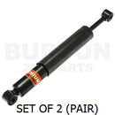 Shock absorbers, pair, rear, Burton Premium, 2cv6/Dy6 1970 to 1990. SEE NOTES
