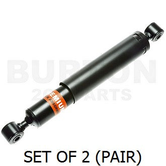 Shock absorbers, rear, pair, AK400 up to 1976 with 12mm spindle size.