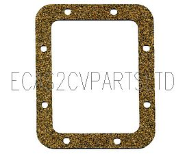 Gearbox cover gasket for 2cv with steel plate gearbox cover.