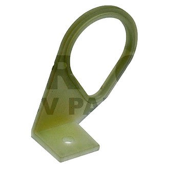 Nylon coil bracket for Dyane, Acadiane, you will need 2 pieces our price is for just one.