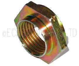 Nut, reverse (left hand) thread for centrifugal clutch to input shaft.