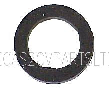 Rubber washer between wiper spindle cup washer & 2cv body.