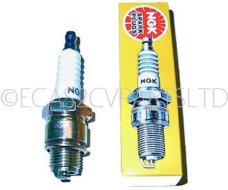 Spark plug for 2cv, B7HS, by NGK (Japanese). Hard driving use. ONE PLUG