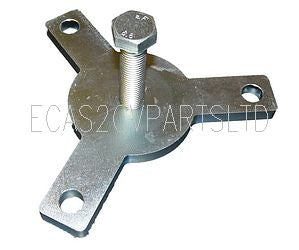 Brake drum puller spider tool (rear). See details.